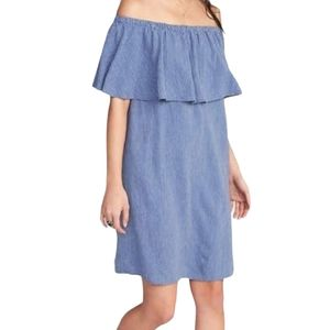 Old Navy Dress Off The Shoulder With Top R…